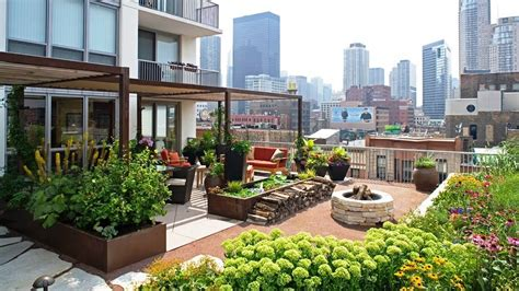 Gorgeous Landscape And Gardens In Rooftop Terraces  Pinoy