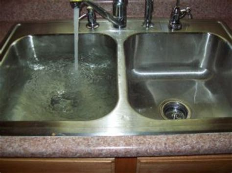unclogging a kitchen sink with standing water kitchen captivating clogged kitchen sink decor clogged