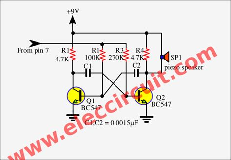 Non Contact Voltage Detector Circuit Using