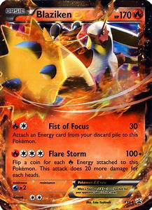 Blaziken-EX XY54 Promo Rare Holo Pokemon X & Y Single Card ...