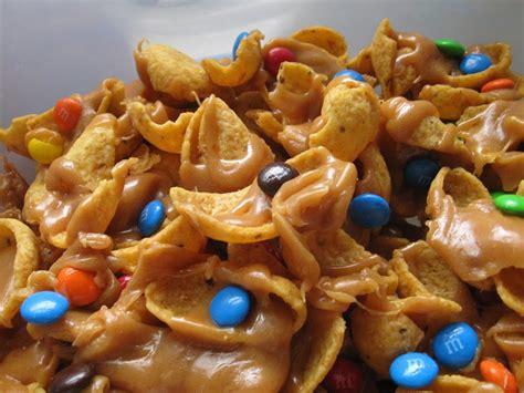 Salty Sweet Peanut Butter Caramel Funky Fritos