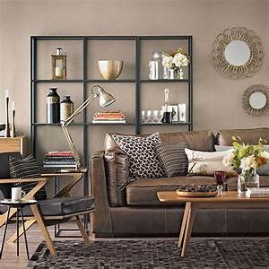 Chocolate brown living room living room decorating for Chocolate brown living room ideas