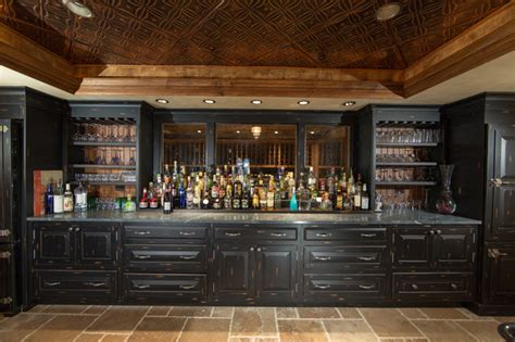 Custom Built Home Bars by Custom Built Home Basement Bar Traditional Home Bar