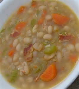 Bacon and Bean Soup