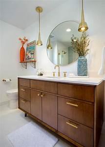 Modern, Bathroom, Vanity, Ideas, Mid, Century