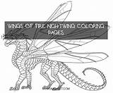 Nightwing Wings Fire Coloring Pages sketch template