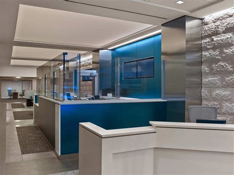 bank leumi usa bank branch architecture  design project