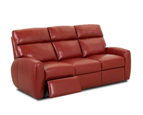 who makes the best leather sofas red recliner sofa bailey red reclining sofa bad home