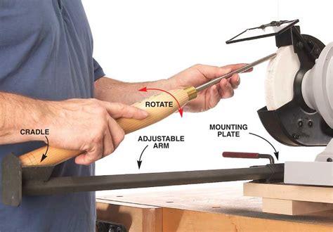 bowl gouge sharpening jigs popular woodworking