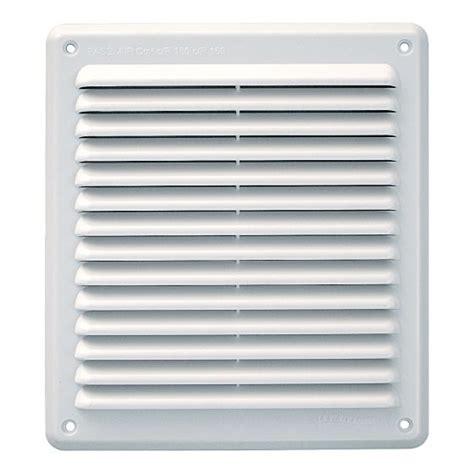 grille de ventilation grille de ventilation rectangulaire pvc anti pluie 204x230mm