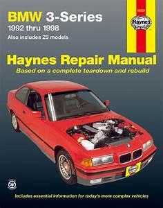 Bmw 3 Series  U0026 Z3 Haynes Repair Manual  1992-1998