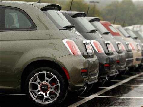 Fiat Dealership Maryland by Feds Probe Fiat Chrysler Inflated Sales Figures