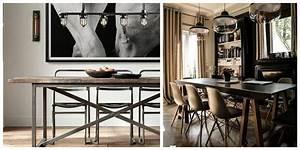 Luminaire Style Industriel : luminaire salle a manger industriel ~ Teatrodelosmanantiales.com Idées de Décoration