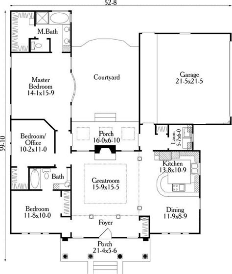 small  shaped house plans  floor plan  house