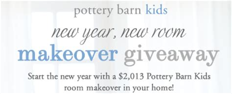Pottery Barn Gift Card Discount by Pottery Barn Quot New Year New Room Makeover Giveaway