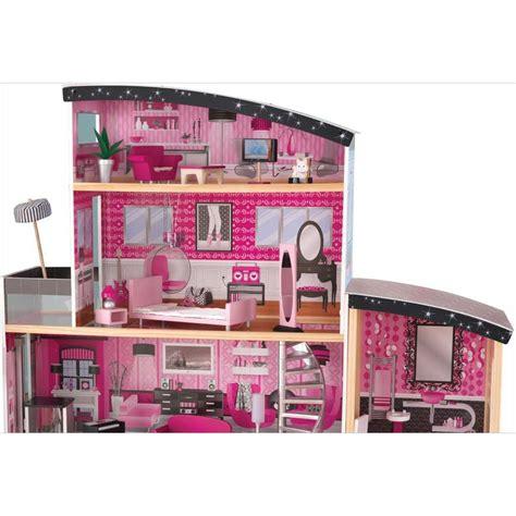 grande maison de poup 233 e en bois villa sparkle r 234 ves merveilles