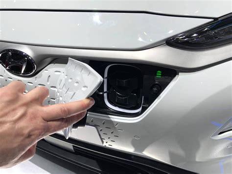 hyundai kona elektro auf dem autosalon  genf bericht