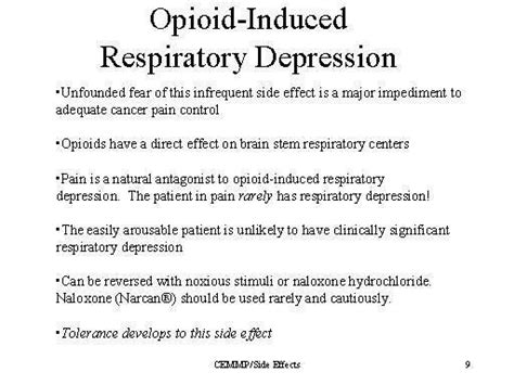 tusk  opioid induced respiratory depression