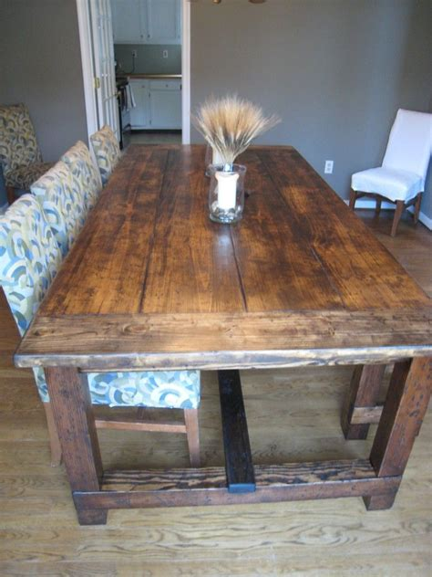 diy friday rustic farmhouse dining table rustic kitchen