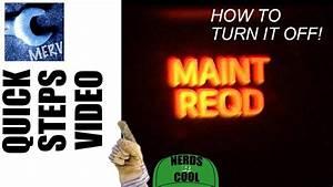 How To Reset Car Maintenance Light