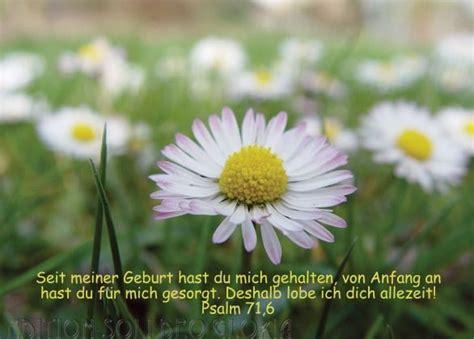 christliche postkarte  psalm  geburtstag blumen