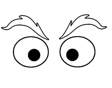 eyebrows coloring page coloringcrewcom