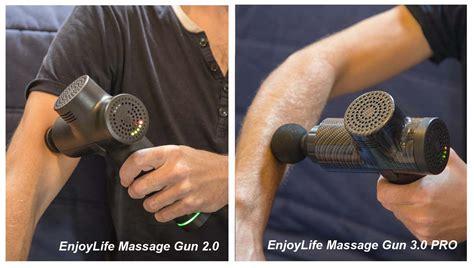 EnjoyLife© Massage Gun 2.0 is not just a MuscleGun