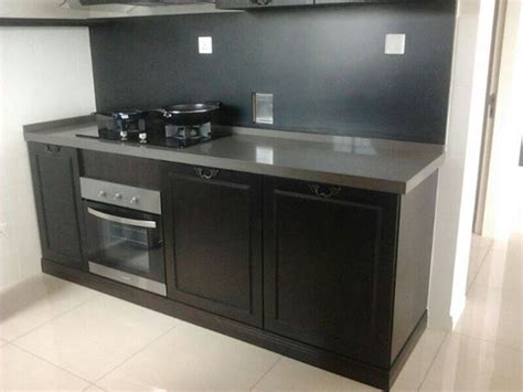 kitchen cabinet with black granite table top 11 malaysia