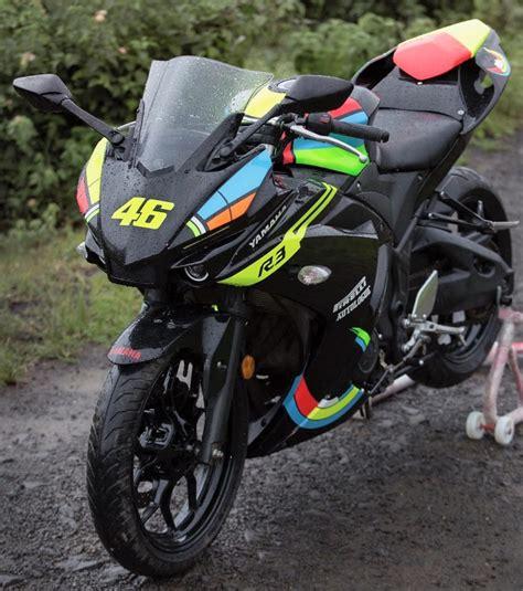 Modification Yamaha R1m by Meet Autologue S Vr3m Yamaha R3 Transformed Into A Yamaha R1m