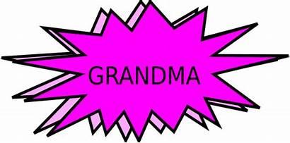 Proud Grandma Clip Grandmother Auntie Parents Cliparts