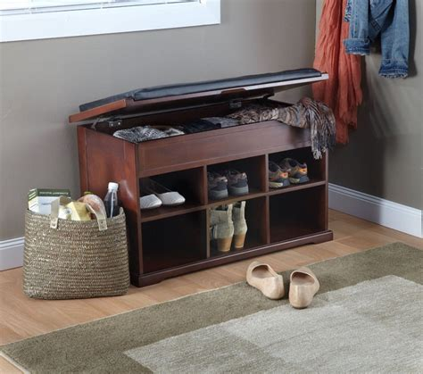 entry bench with shoe storage design shoe storage bench entryway stabbedinback