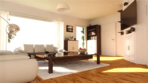 4d Home Interior : Indirect Daylight Lighting Human Centric With Healthy A