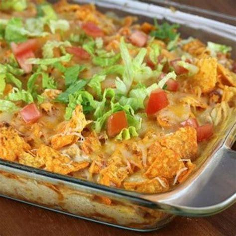 chicken dorito casserole dorito chicken casserole chicken recipes pinterest