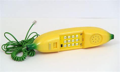 ring ring ring banana phone 1980s bananas and phones on