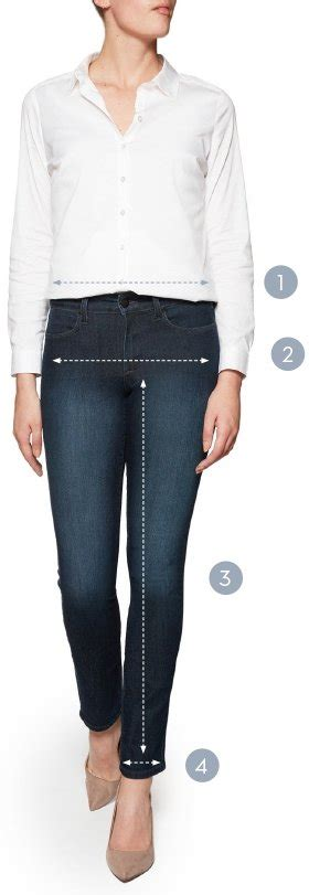 nydj size guide jeans trousers
