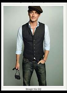 Waistcoat and jeans groom | Waistcoat I likes | Pinterest