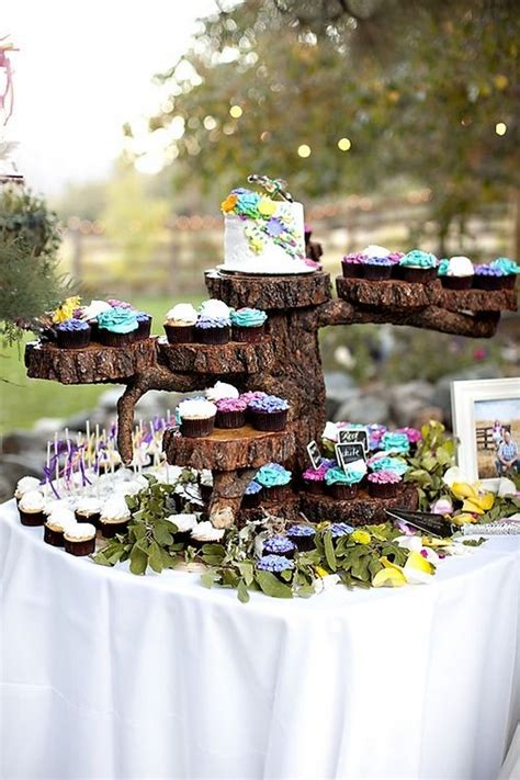 fab country rustic wedding ideas  tree stump page      puff