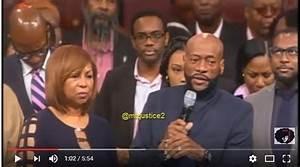 Bishop Eddie Long tells church that God healed him