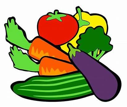 Clipart Vegetables Veggies Clip Veggie Mixed Cliparts