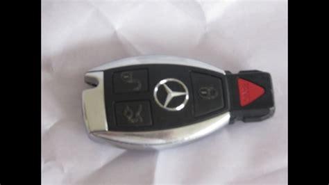 Mercedes Benz Keyfob Battery Replacement Smartkey Keyless