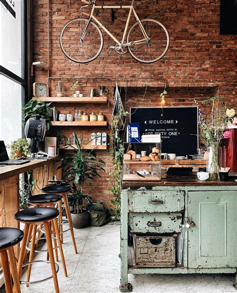 Best coffee captions for instagram a day without coffee is like… just kidding. 𝙘𝙤𝙯𝙮 𝙘𝙖𝙛𝙚 in 2020   Coffee shop decor, Rustic coffee shop, Cozy coffee shop