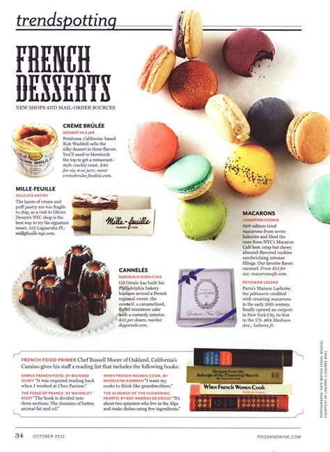 article cuisine macaron cafe press