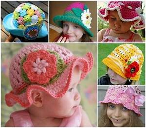Photos of Child Crochet Good Reasons Why Infant Sun Hats ...