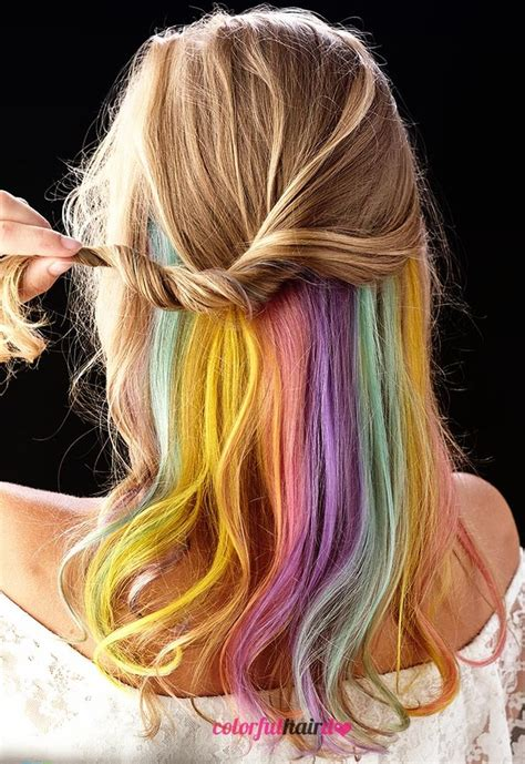 Pastel Rainbow Hair Beauty Pinterest Pastel Rainbow