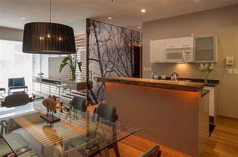 deco maison cuisine ouverte décoration appartement cuisine ouverte