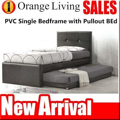 qoo promotion  single super single bedframe