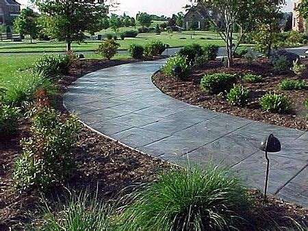 ideas  stamped concrete walkway  pinterest stamped concrete stamped concrete