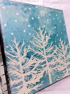 15, Easy, Canvas, Painting, Ideas, For, Christmas, 2017