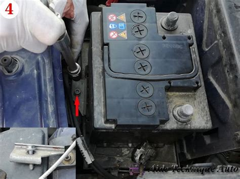 siege pour batterie tutoriels pour changer soi même la batterie de sa voiture