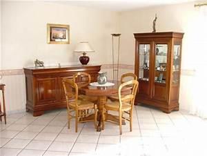Decoration salle a manger en merisier for Meuble de salle a manger avec salle a manger merisier